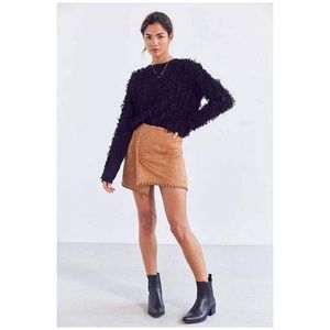 Dresses & Skirts - Brown Suede Skirt
